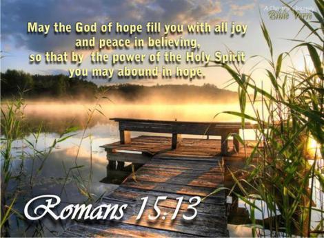 God of hope