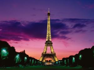 EiffelToweratNightParisFrance