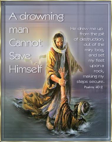 a drown