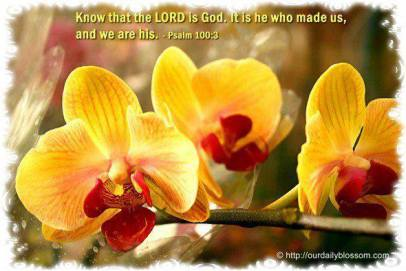 know the Lord