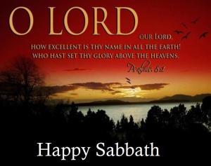 O Lord- Sabbath