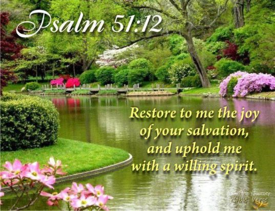 restore to me..