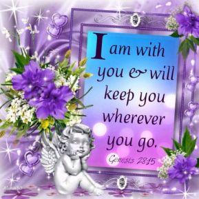 I am with u
