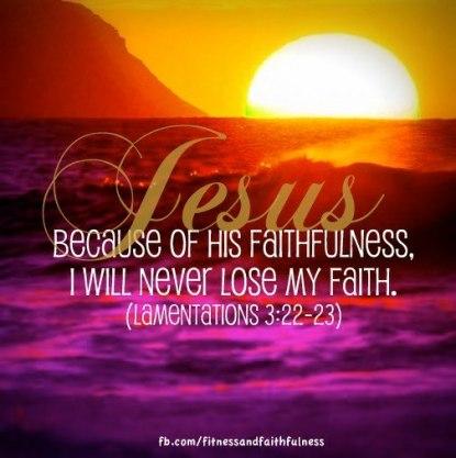 lose faith